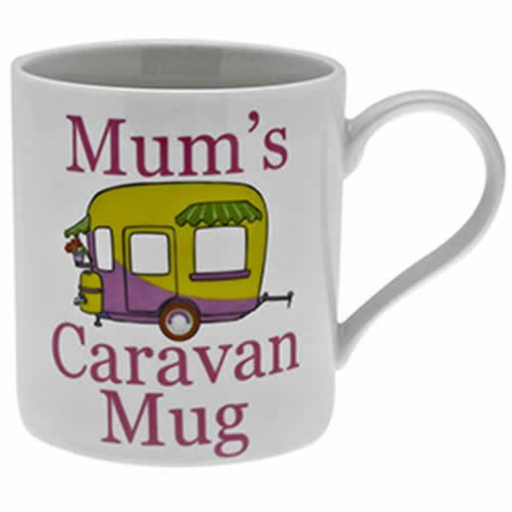 Mum's Caravan Fine China Mug in Gift Box