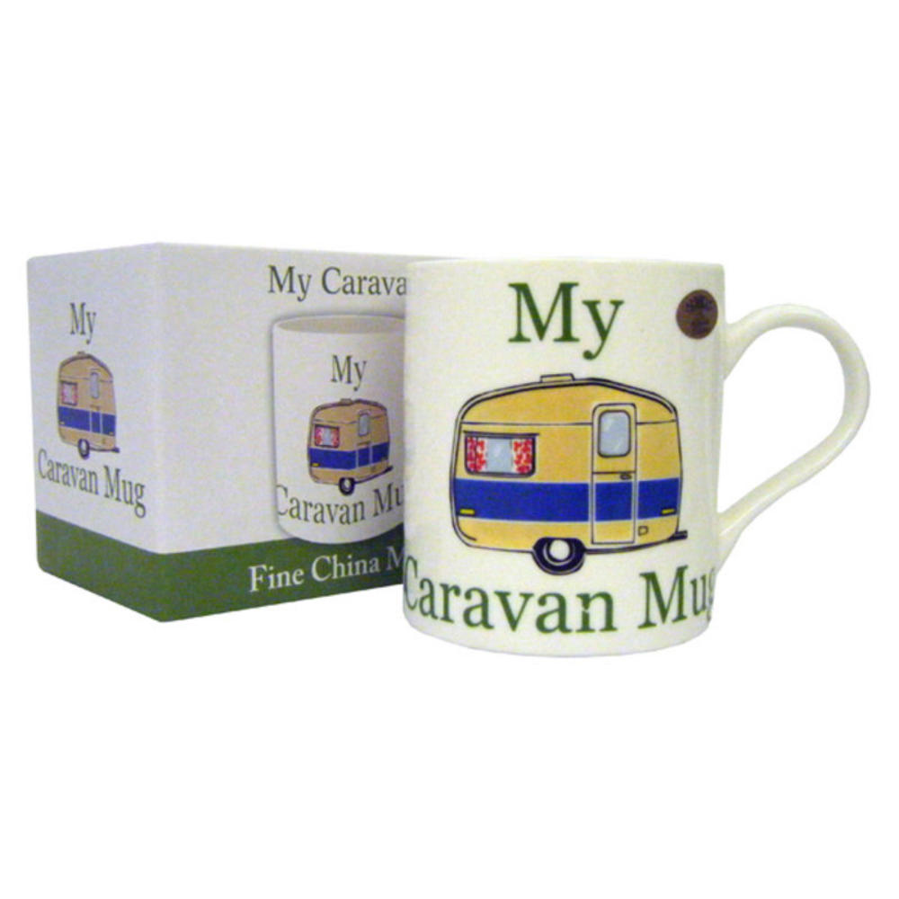 My Caravan Fine China Mug in Gift Box
