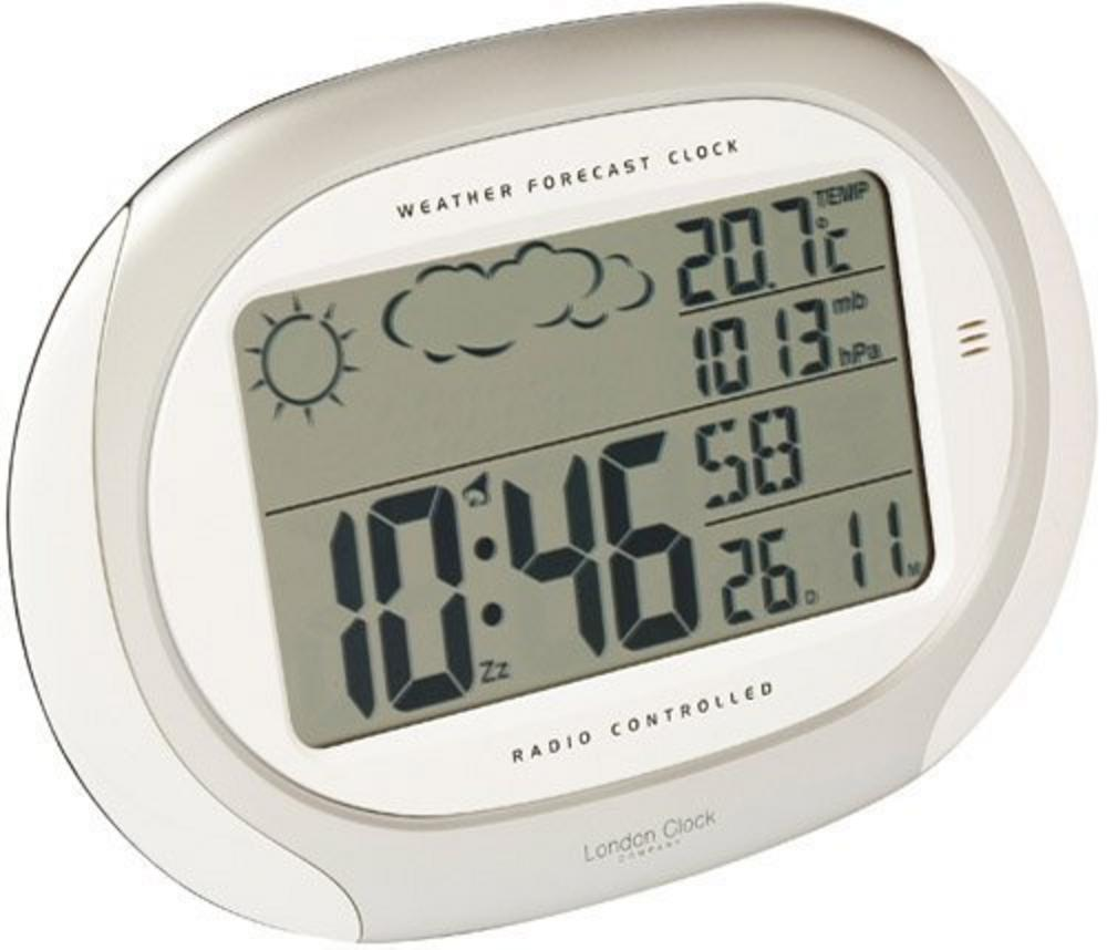 Weather Forecaster Radio Controlled Alarm Wall Clock