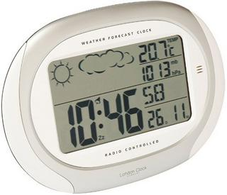 Weather Forecaster Radio Controlled Alarm Wall Clock Thumbnail 1
