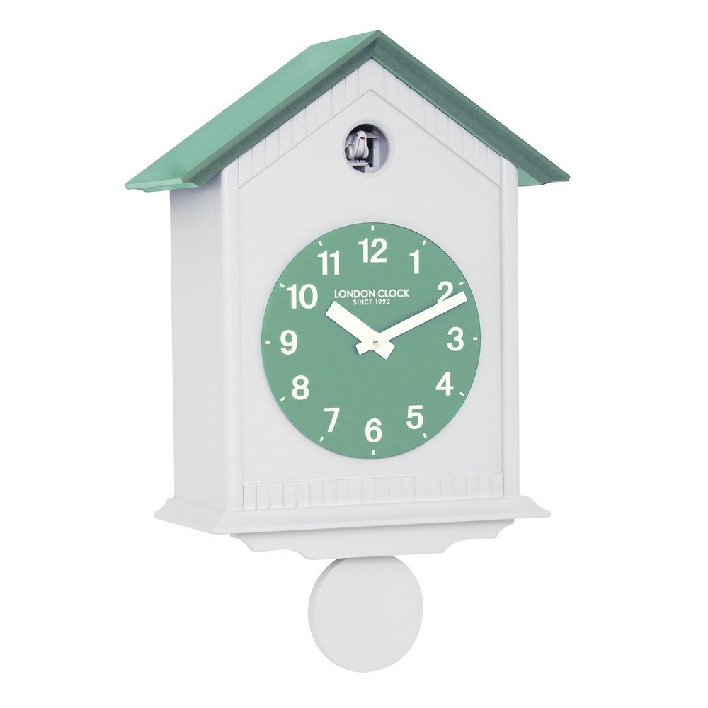 London Clock Company Contemporary Cuckoo Chime Pendulum Wall Clock Ebay