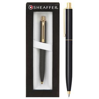 Sheaffer Sentinal Matt Black Ball Point Pen Thumbnail 1