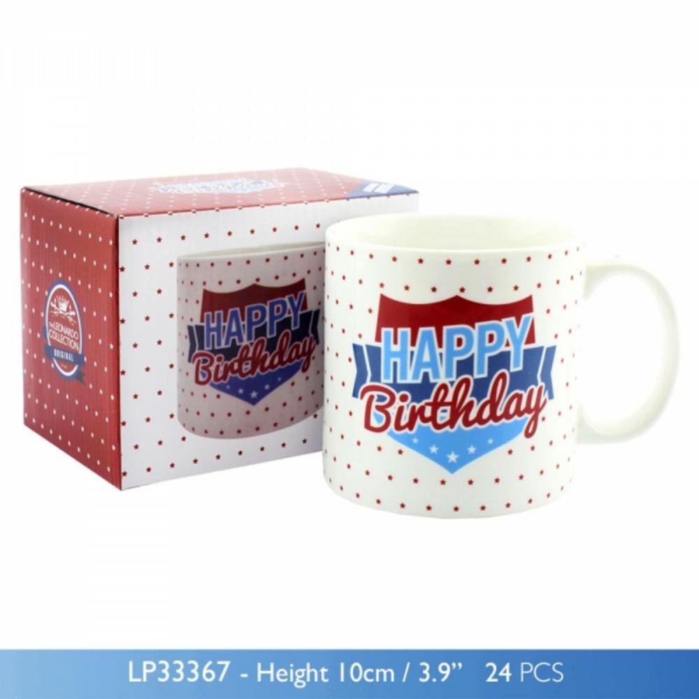 Happy Birthday Jumbo Mug
