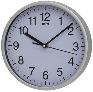 Black, Silver of White Radcliffe Silent Sweep Wall Clock Thumbnail 1