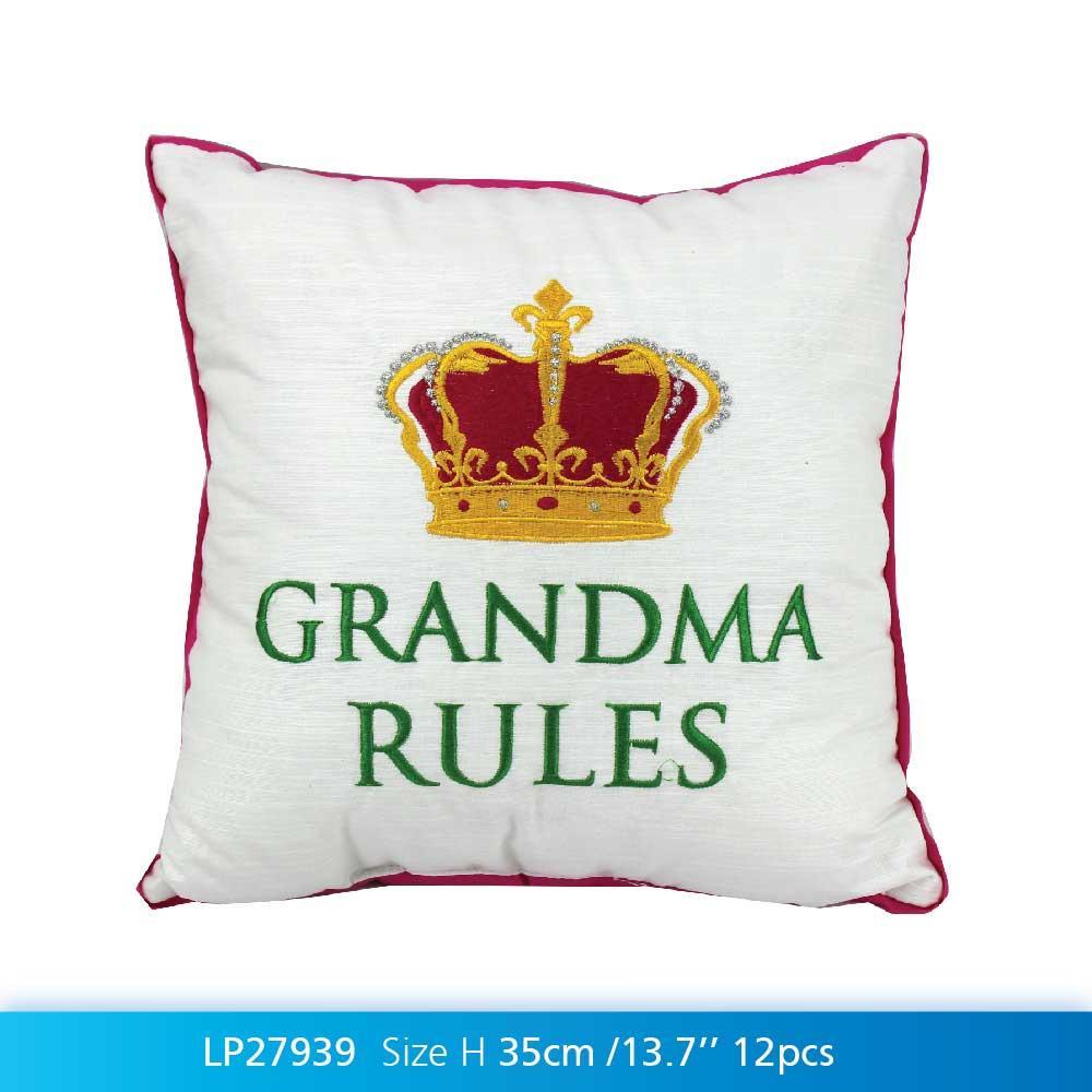Grandma Rules Cushion