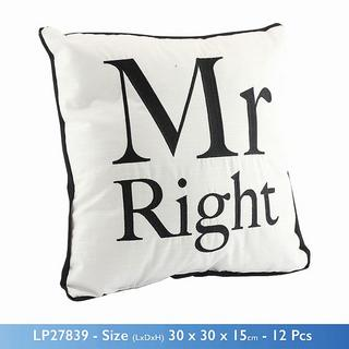 Cosy Cushion Mr Right Thumbnail 1