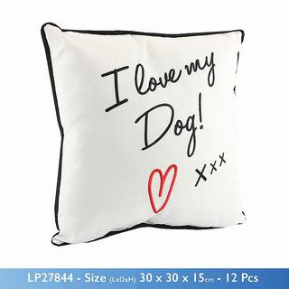 I Love My Dog Cushion Thumbnail 1