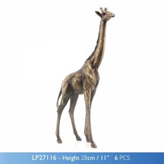 Reflection Bronze Giraffe Thumbnail 1