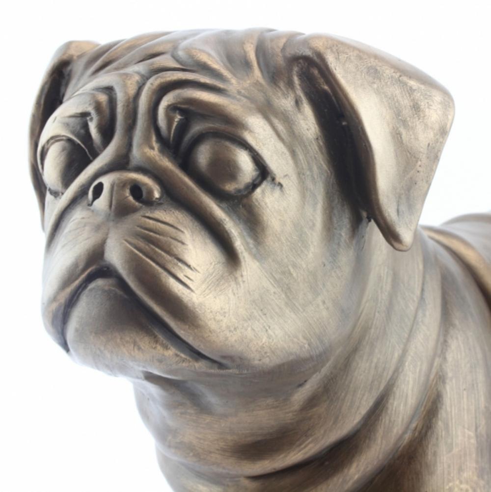 Art Bronze Pug