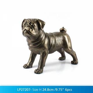 Art Bronze Pug Thumbnail 2