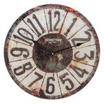 Hometime Glass Wall Clock 57Cm 'Brixton' W570 X H570 X D55