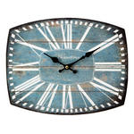 HOMETIME MDF WALL CLOCK RECTANGLE 'BAMFORD' W300 X H240 X D5