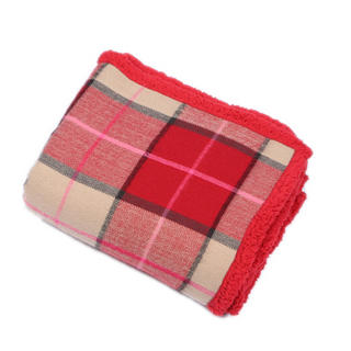 Malini Glen Throw in Scarlet Thumbnail 1