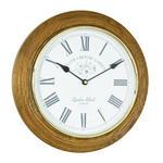 Solid Wood Oak Wall Clock