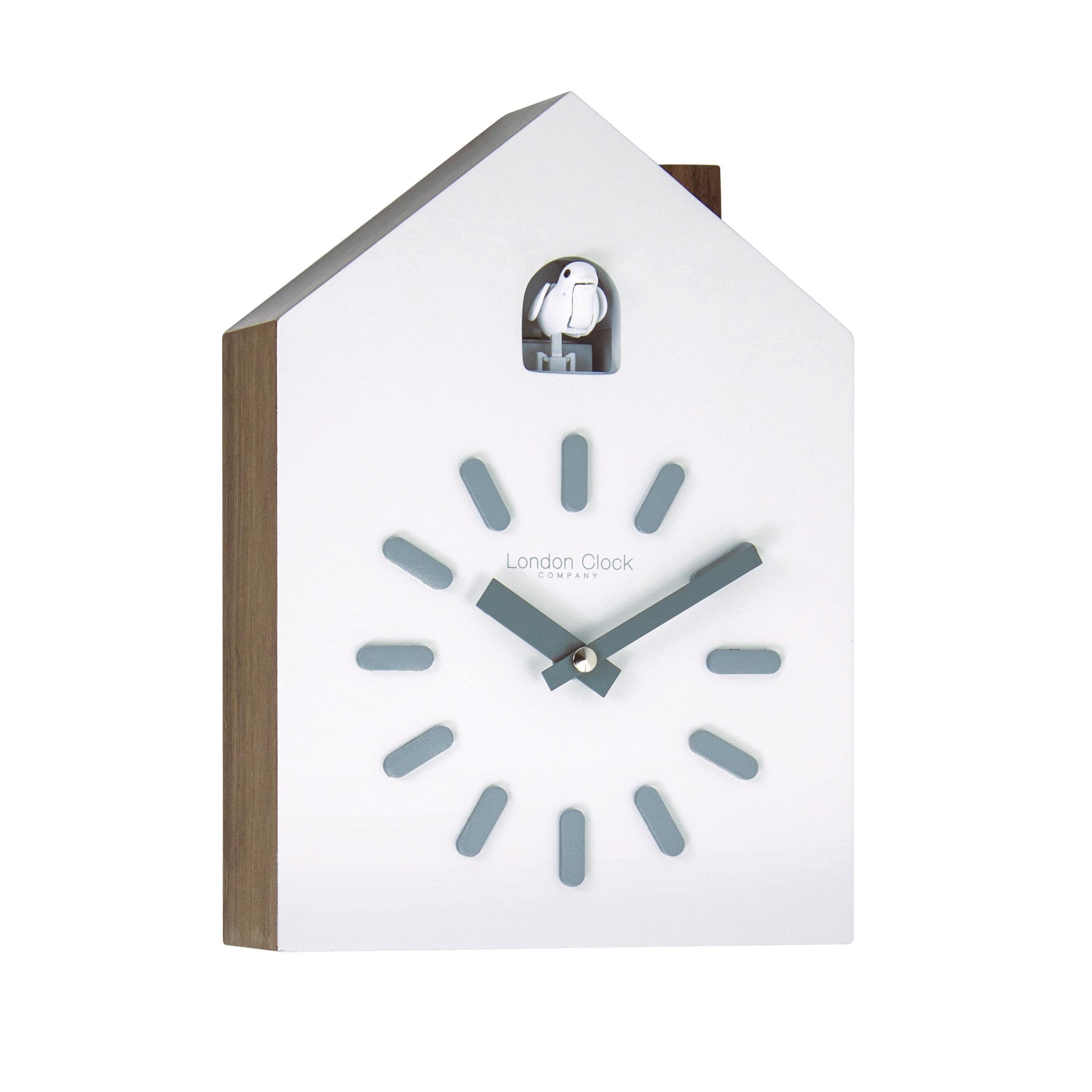 London Clock Company Contemporary Cuckoo Chime Wall Clock Ebay