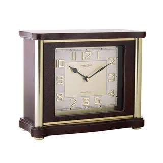Traditional Flat Top Mantel Clock Thumbnail 1