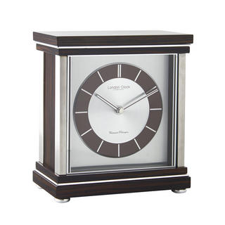 Ebony Mantel Clock Thumbnail 1