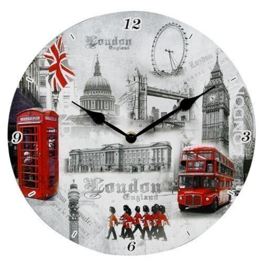 London Scene Small Wall Clock