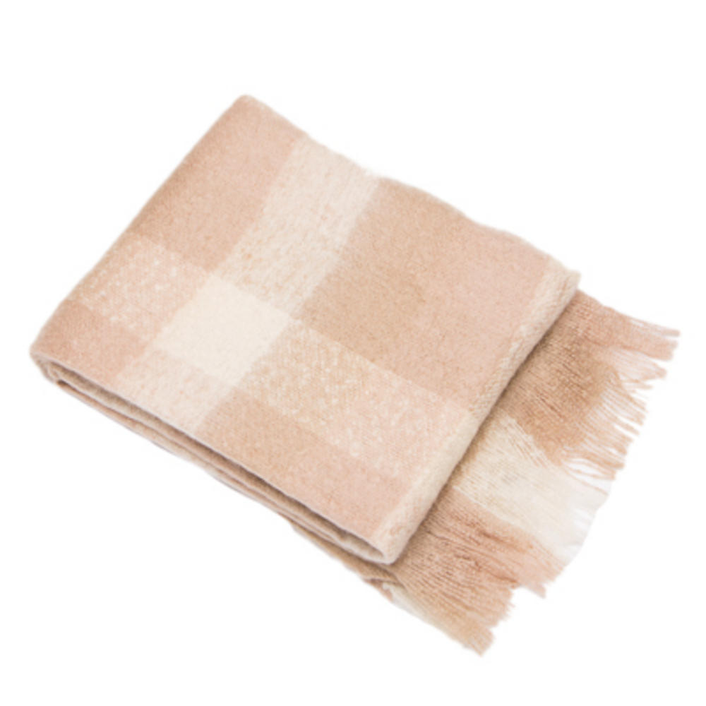 Malini Clarence Throw Taupe