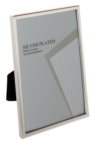 "Leonardo Silver Plate Photo Frame 3.5"" x 5"" Thumbnail 1"