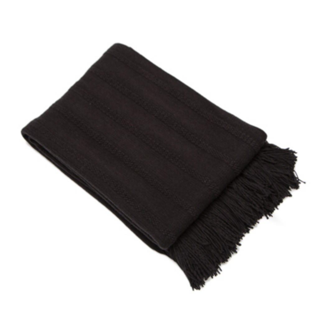 Malini Nile Throw Black