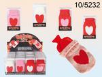 Mini Hot Bottle Hand Warmer Knitted Heart Cover 4 Colours