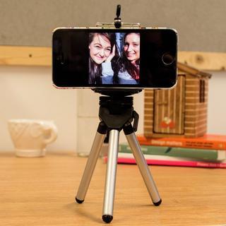 Extendable mobile phone tripod, Selfie stick, ca. 20 cm Thumbnail 2