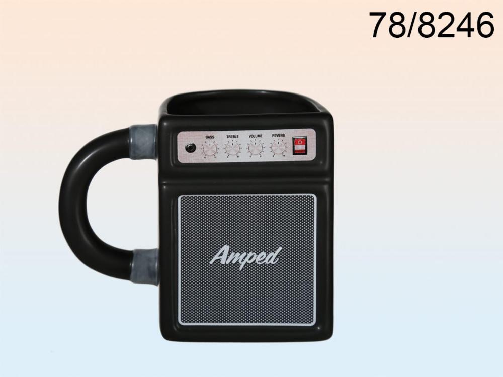 Ceramic Mug Amplifier Design 16 X 10 Cm