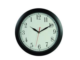 Black Reverse Wall Clock Thumbnail 1