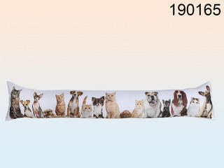 Wind Stopper Draught Excluders Tube Cats & Dogs Design Thumbnail 1