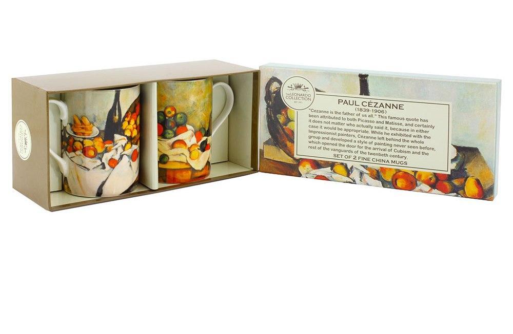 Cezanne Mugs Set Of 2