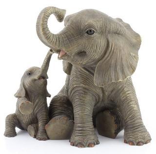 Elephants Playtime Ornament Thumbnail 1