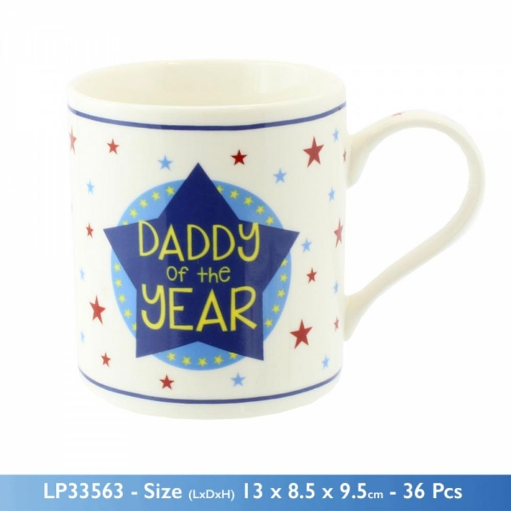 Daddy of the Year Mug