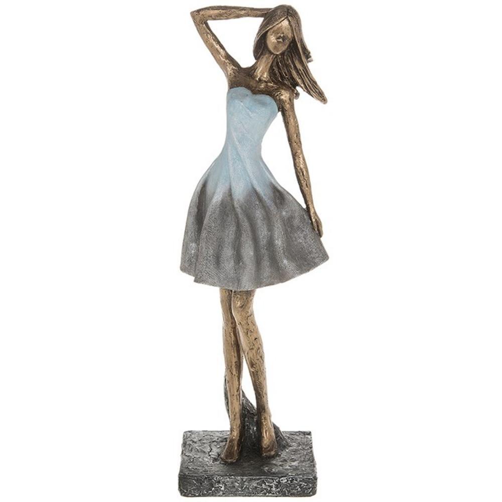 Graceful Girl Hand On Skirt Large