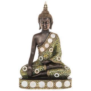 Siam Buddha Sitting Medium Thai Statue Figure Thumbnail 1