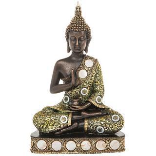 Siam Buddha Sitting Small Thai Statue Figure Thumbnail 1