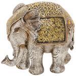 Gold Crackle Elephant Extra Large