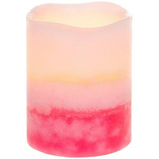 Two Tone Led Flicker Candle Blush Pink Small Thumbnail 1