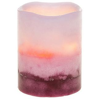 Two Tone Led Flicker Candle Berry Small Thumbnail 1