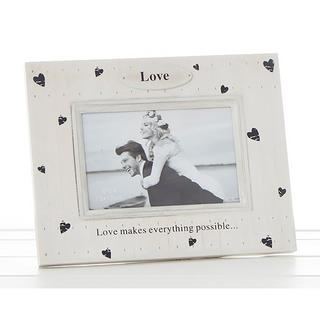 Heart Prints Frame Love Makes Everything Possible Thumbnail 1