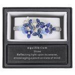 Cool Tones Flowers Half Bracelet