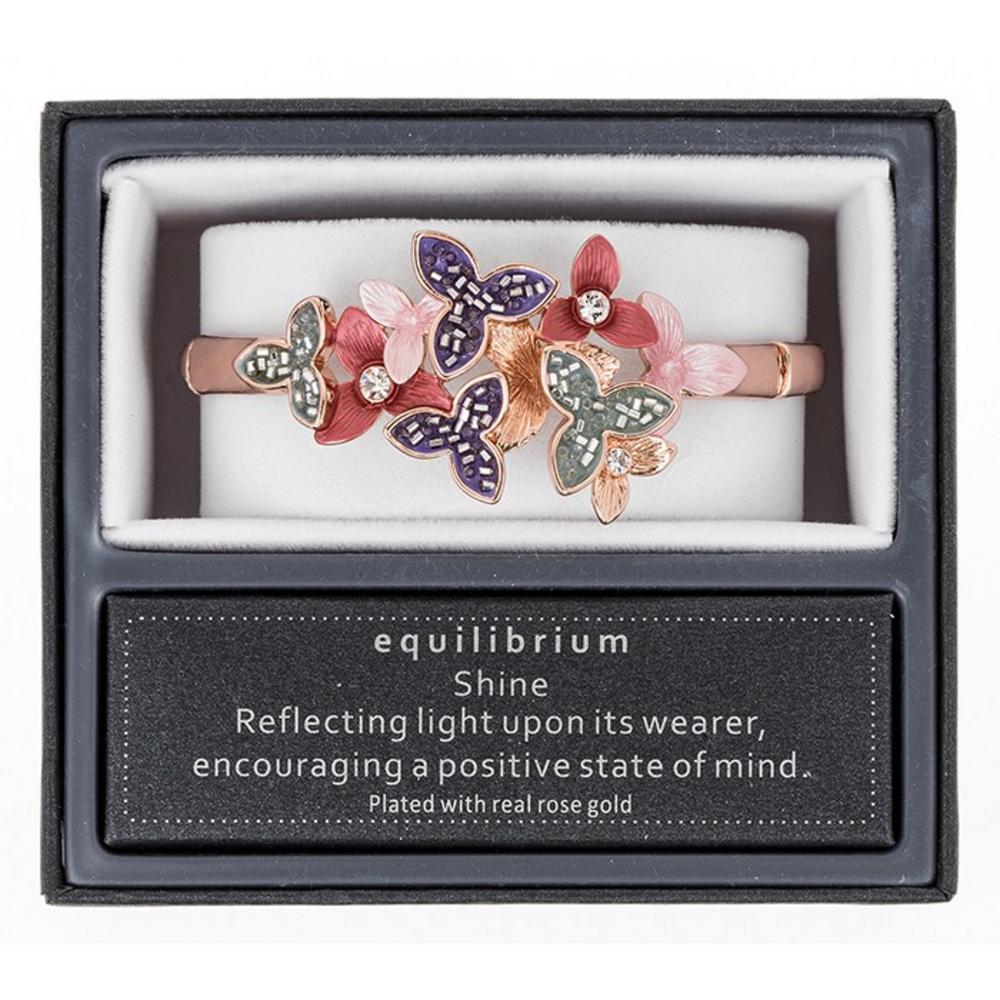 Warm Tones Flowers Half Bracelet