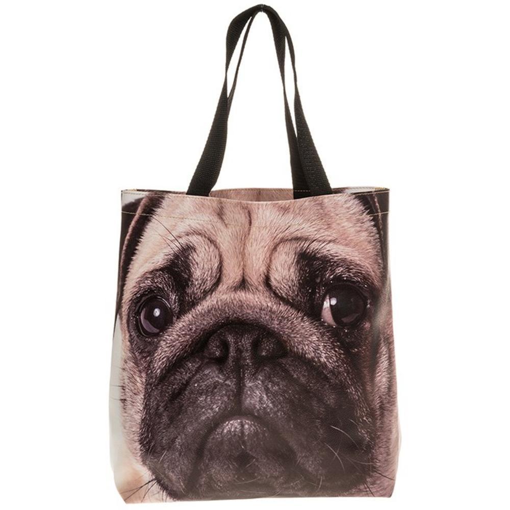 Visage Supermarket Bag Pug