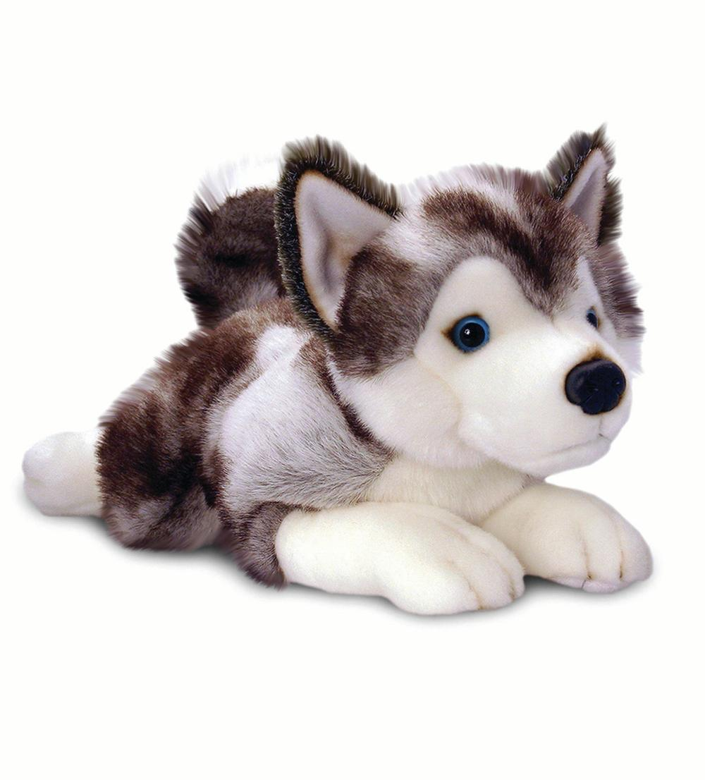 Soft Plushy Husky Toy Animal