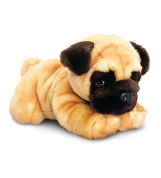 Soft Plushy Pug Toy Animal Thumbnail 1