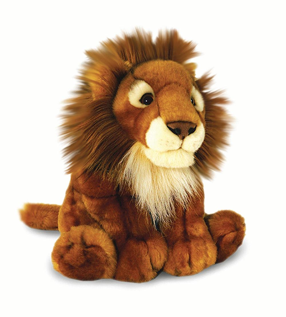 African Lion Soft Toy 30cm