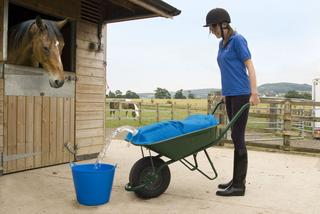 H2GO WHEELBARROW GARDEN WATER CARRIER BAG - UP TO 50 LITRES - 100 X 70CM Thumbnail 3