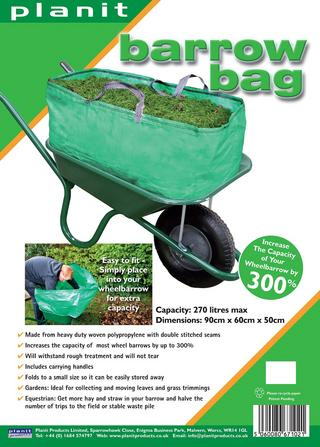 Planit Products 120 Litre Green Garden Go Bag Thumbnail 1