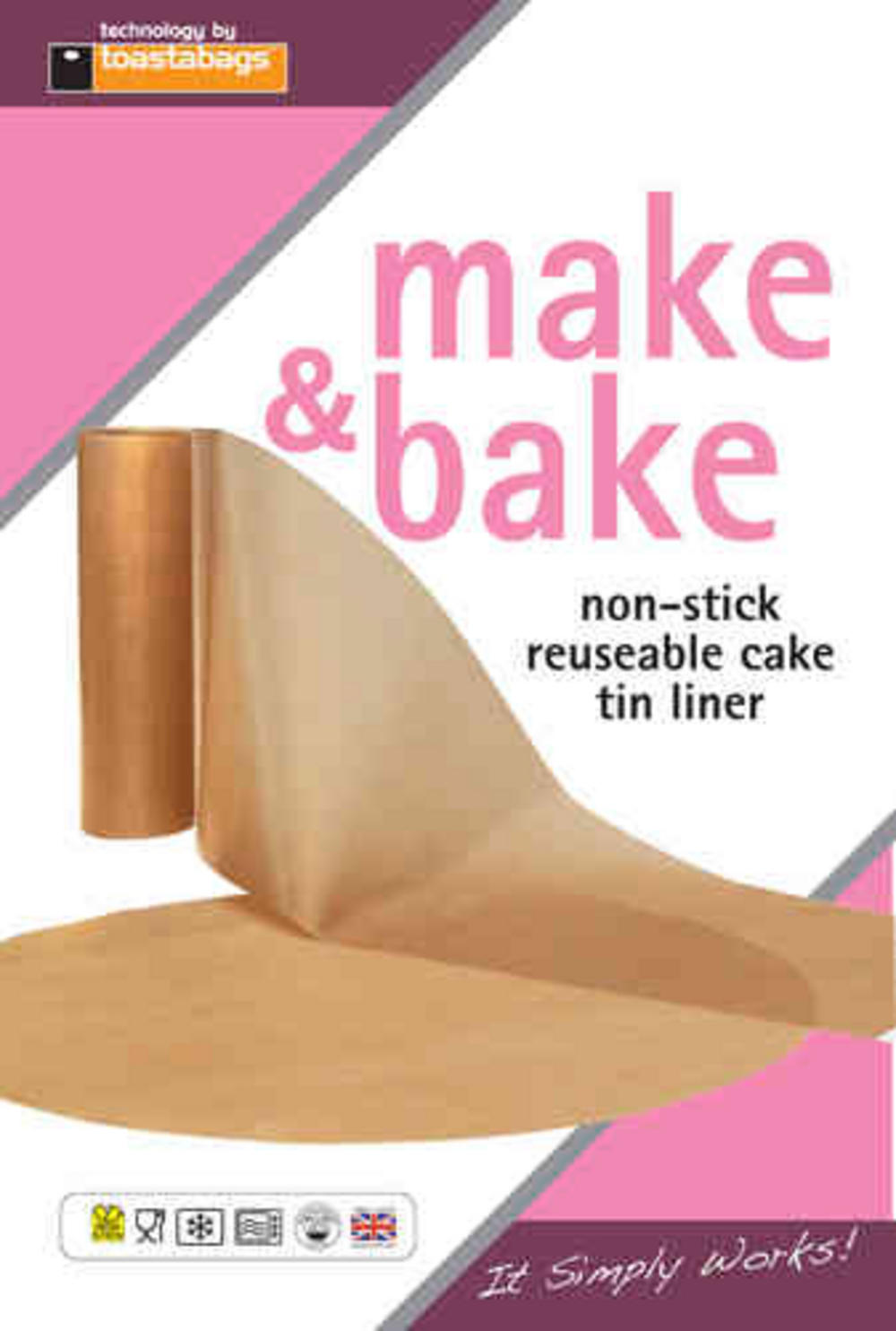 Cake Tin Liner - Non stick reusable circle and wall liner. 7 inch