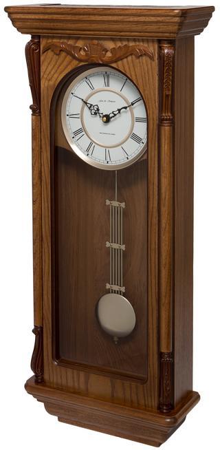 Aldersbrook Oak Pendulum Clock with Westminster Chimes Thumbnail 2